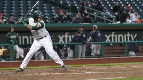 Rodney Daal's sixth-inning home run Sunday proved to be the game-winning hit for the TinCaps.