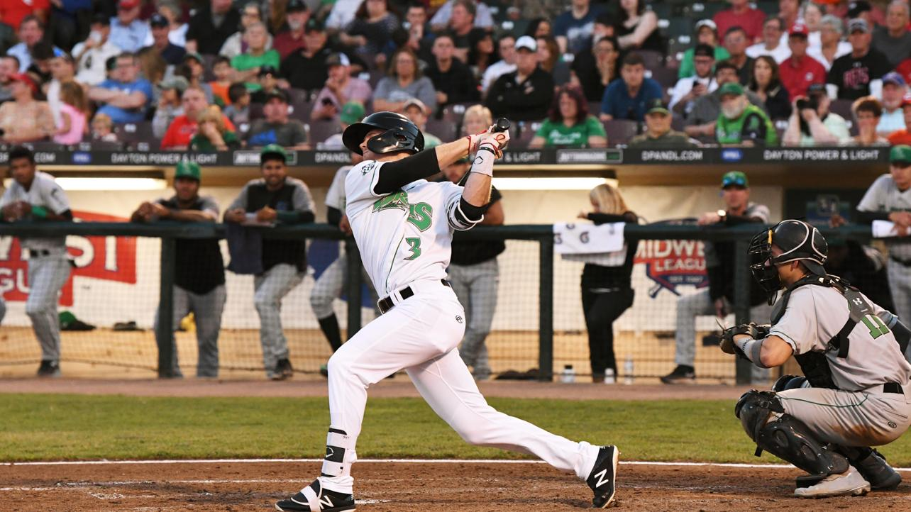 Dragons Collect Hits in Every Inning, Top Lansing 7-2