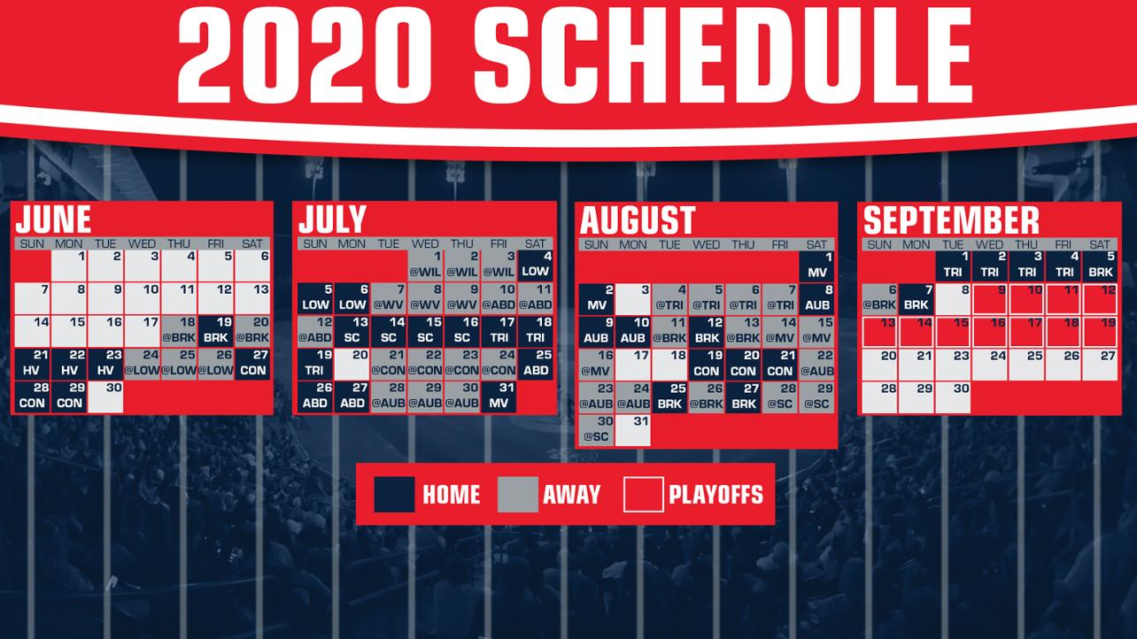 Check out the 2020 Schedule