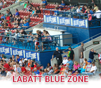 Labatt Blue Zone