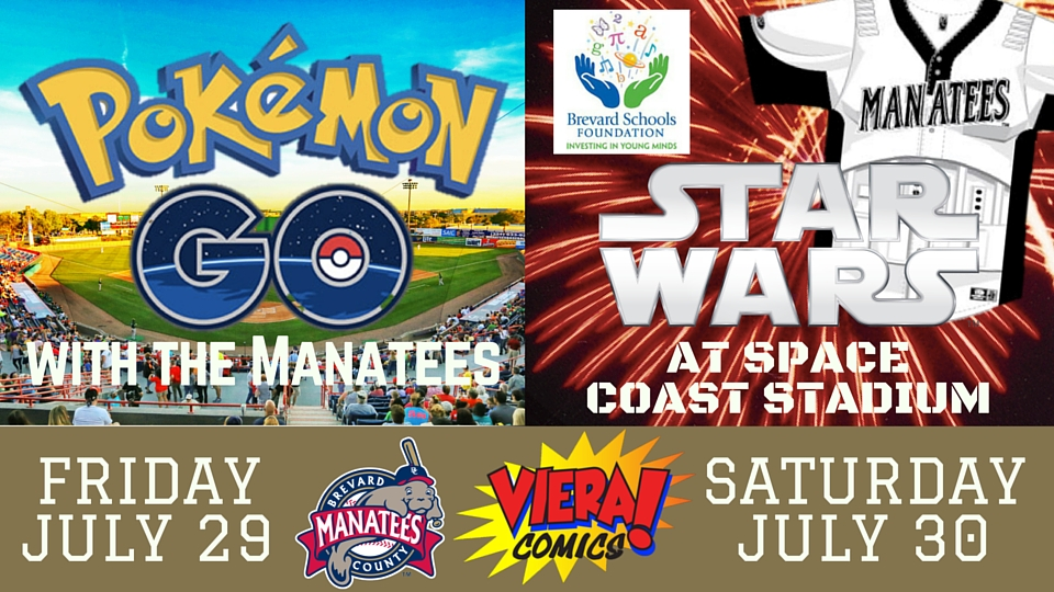 Pokémon Go and Star Wars Night | Florida Fire Frogs News