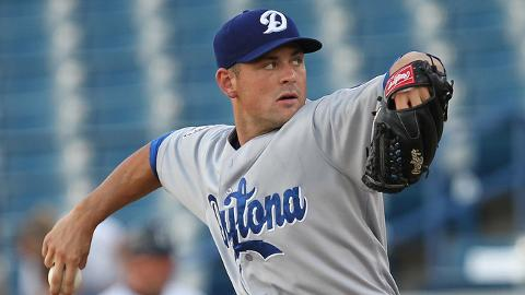 Matt Loosen has 41 strikeouts in 36 innings since joining Daytona.