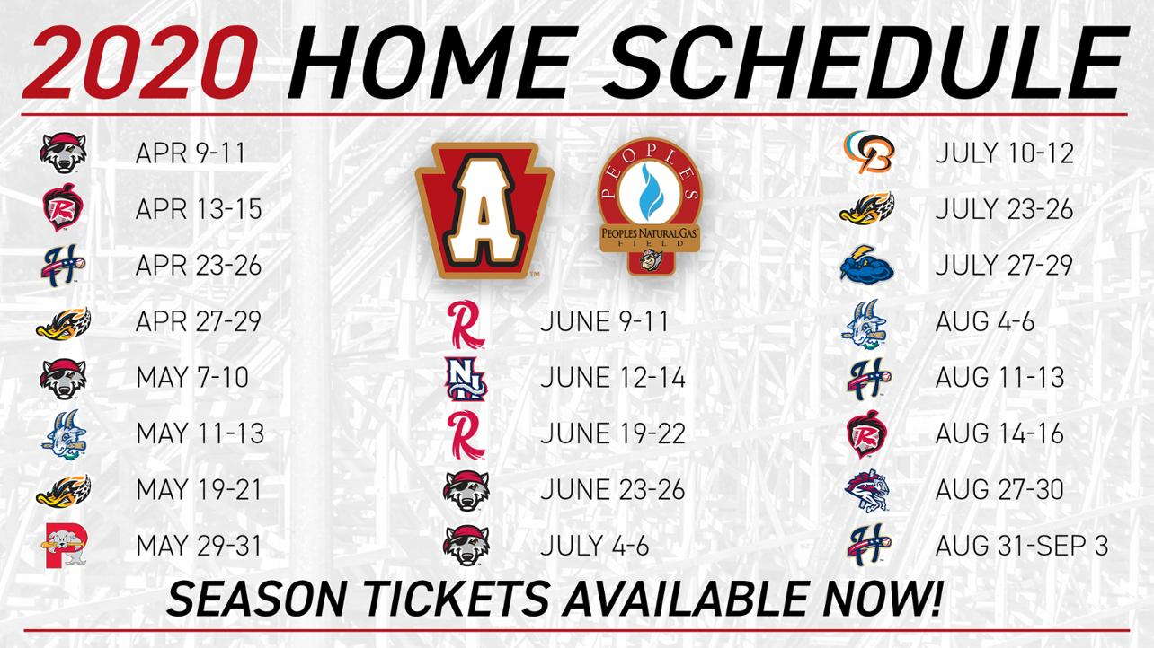 MW - 2020 Home Schedule