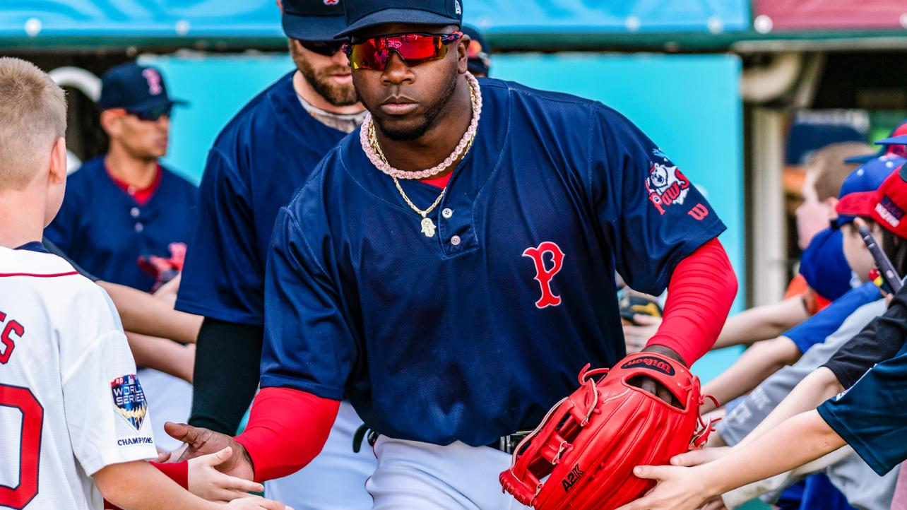 Castillo Carries PawSox to Win over Iron Pigs