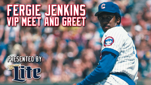 Limited fergie jenkins vip meet greet tickets for april 19 now includes a private meet and greet two hour ballpark buffet and south bend cubs hat m4hsunfo