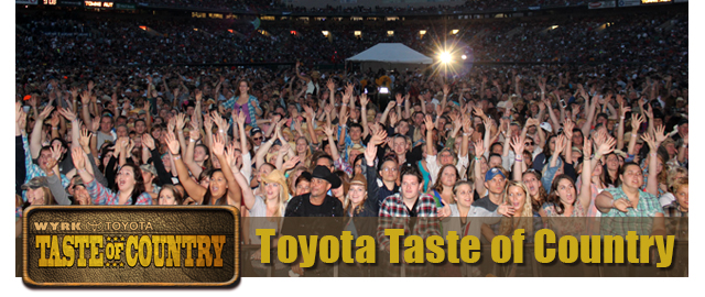 Taste of Country Concert
