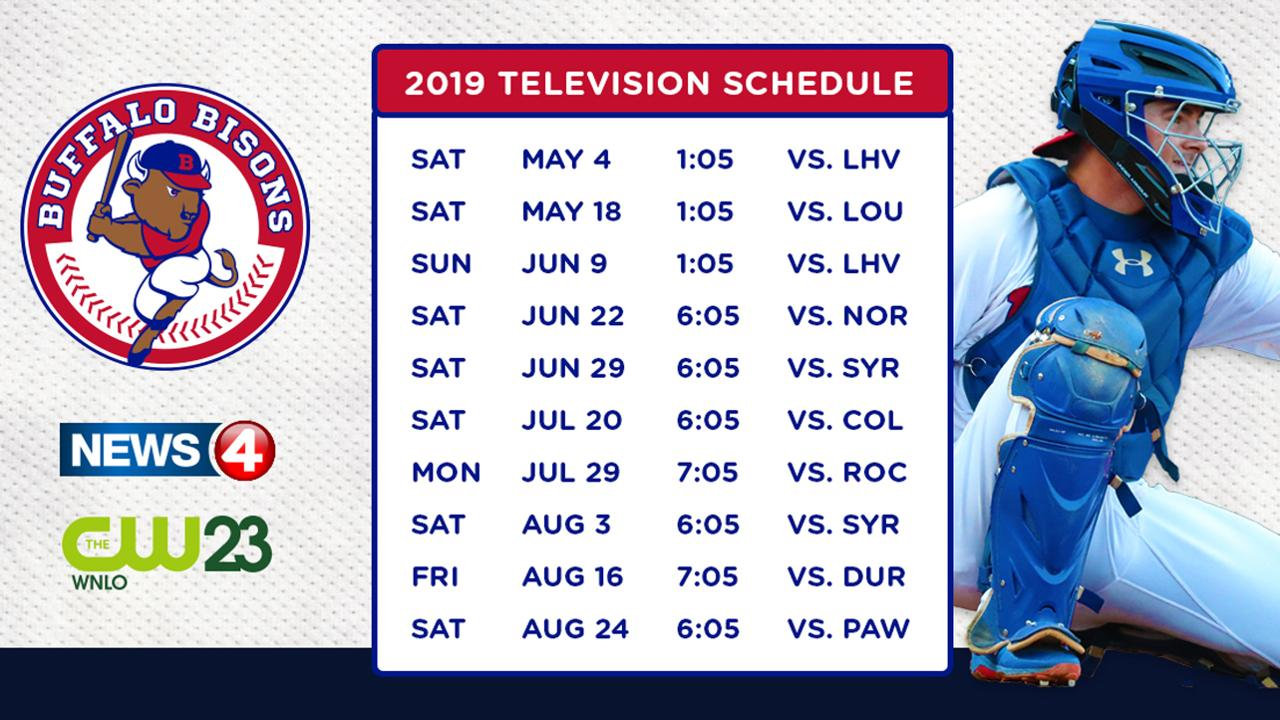 Bisons and Nexstar Broadcasting partner to air 10-game