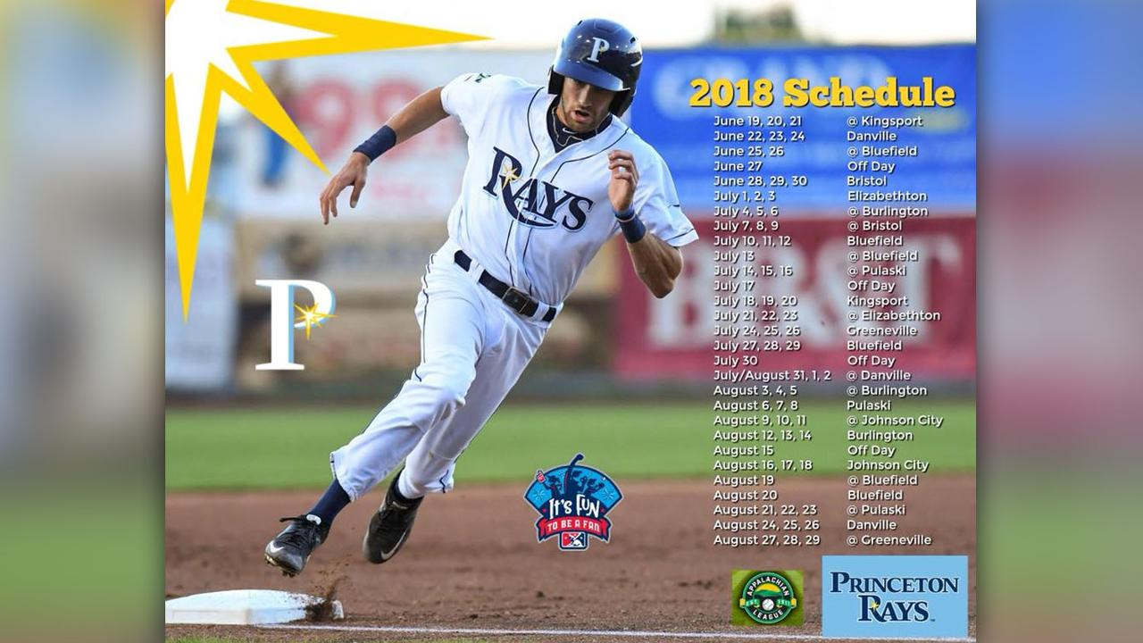 The Rays are back: check out the 2018 schedule