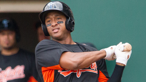 Jonathan Schoop was hitting .348 in May when he was injured.
