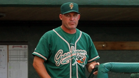 Manager David Berg was the Marlins' 38th-round pick in the 1993 Draft.