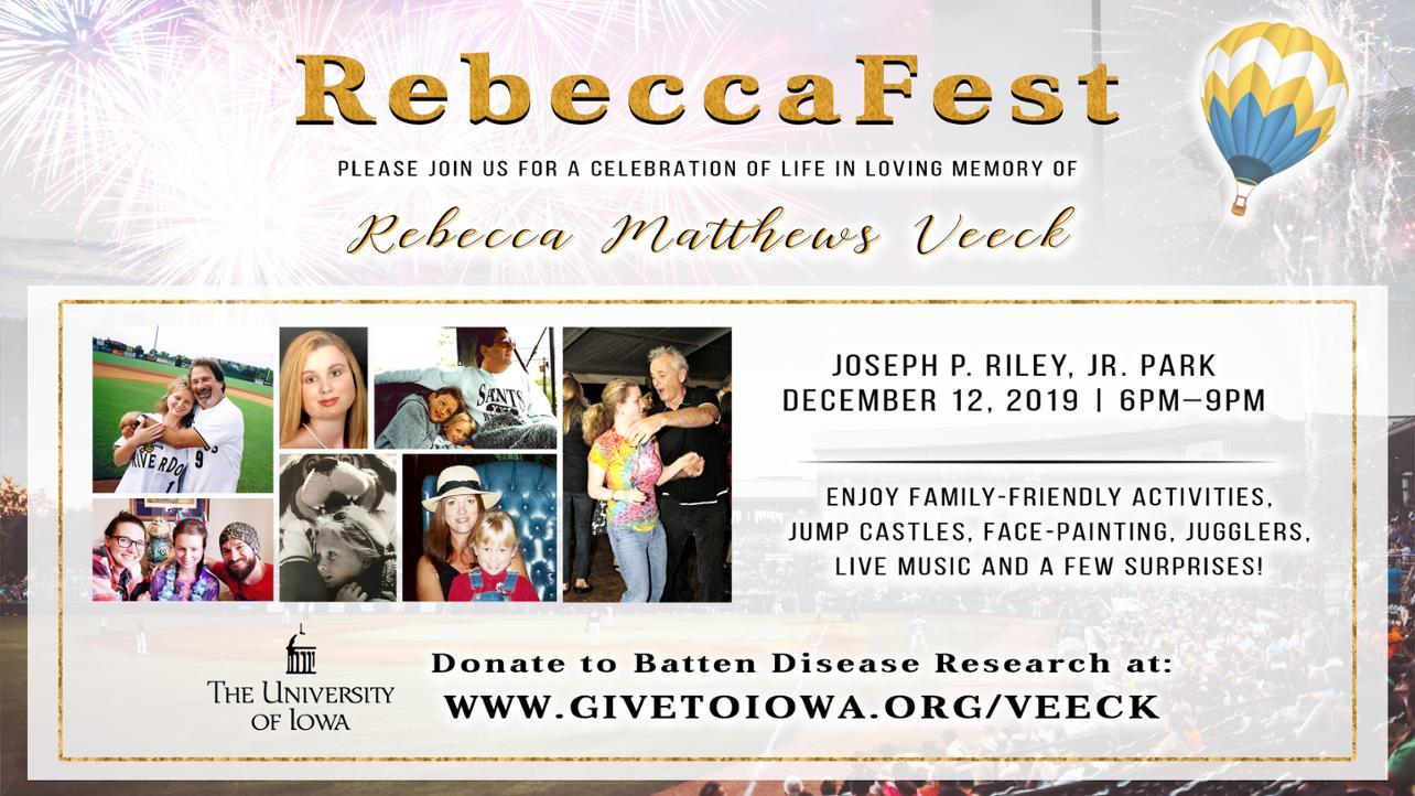 RebeccaFest Mediawall