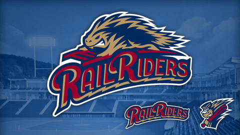 The new RailRiders logo includes a porcupine to honor the first runner-up of the naming contest.