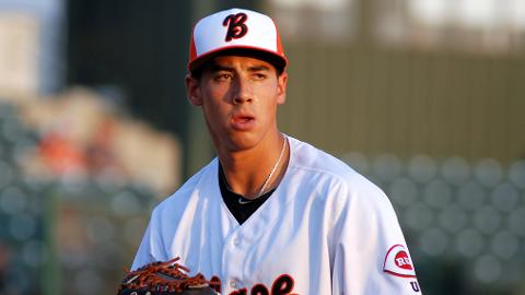 Robert Stephenson has 107 strikeouts in 89 1/3 innings across two levels.