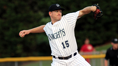 Erik Johnson had a memorable season with the Charlotte Knights in 2013.
