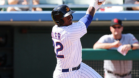 Jorge Soler is batting .282 with seven RBIs in eight games for Mesa.