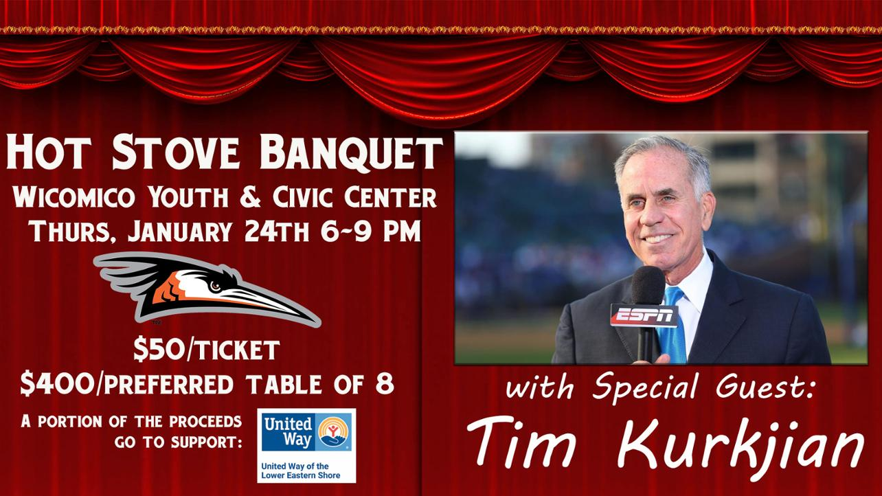 11-13-18 Tim Kurkjian Headlines Shorebirds' Hot Stove Banquet