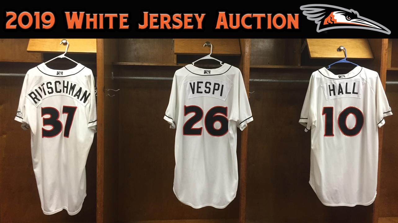 2019 White Jersey Auction