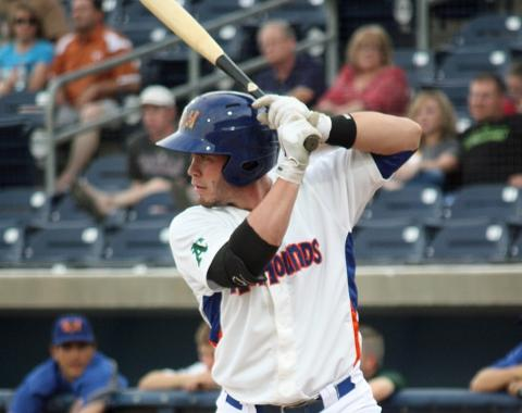 Beau Taylor collected his first RBI's of the season in Friday's 8-4 loss