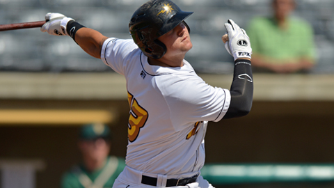 West Virginia's Stetson Allie leads the SAL with 16 homers.