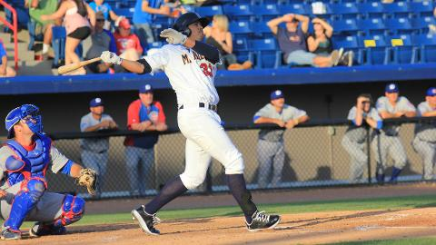 Brevard County Manatees first baseman Nick Ramirez was named the Florida State League Player of the Week for the period of July 8-14. He hit .526 with two home runs and eight RBI in those five games.