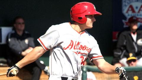 Alex Dickerson had 14 RBIs in 45 games before Sunday's outburst.
