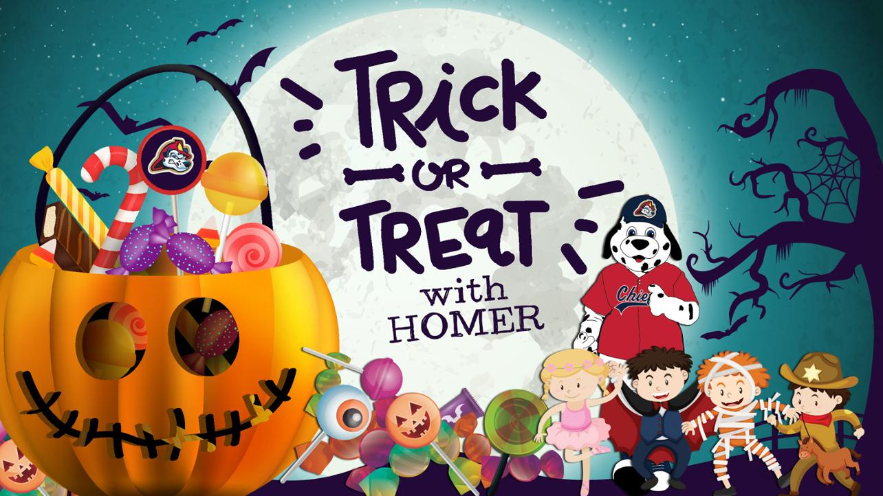 Trick or Treat with Homer