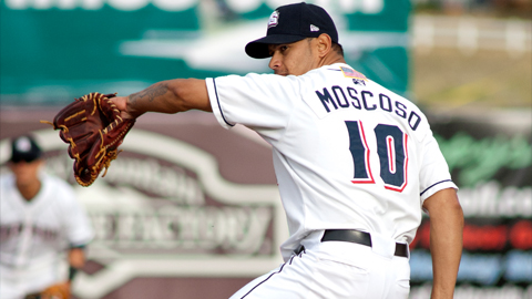 Last season Moscoso helped save the Sox from getting swept by the RedHawks by only allowing one run in six innings.