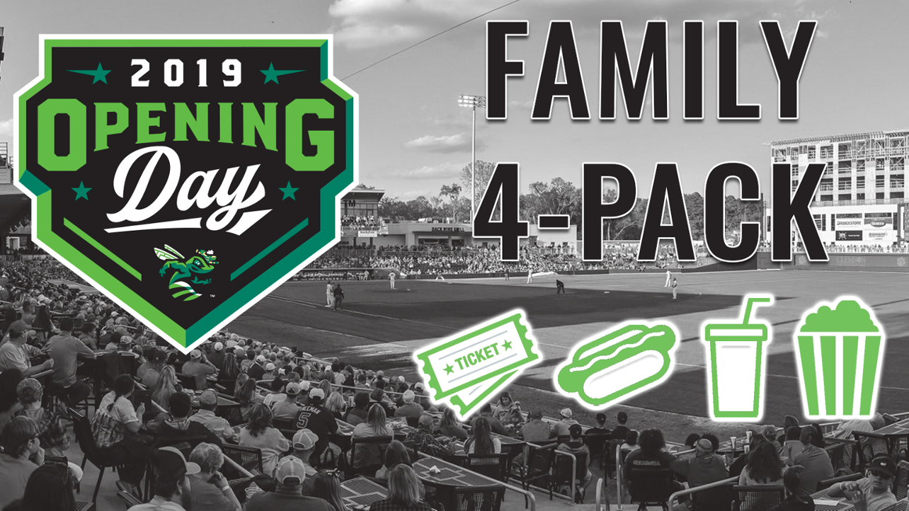 Opening Day Family 4-Pack