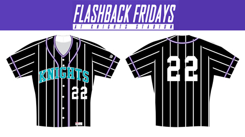 The current Knights will wear these 1990 jerseys during every Friday home game this season.