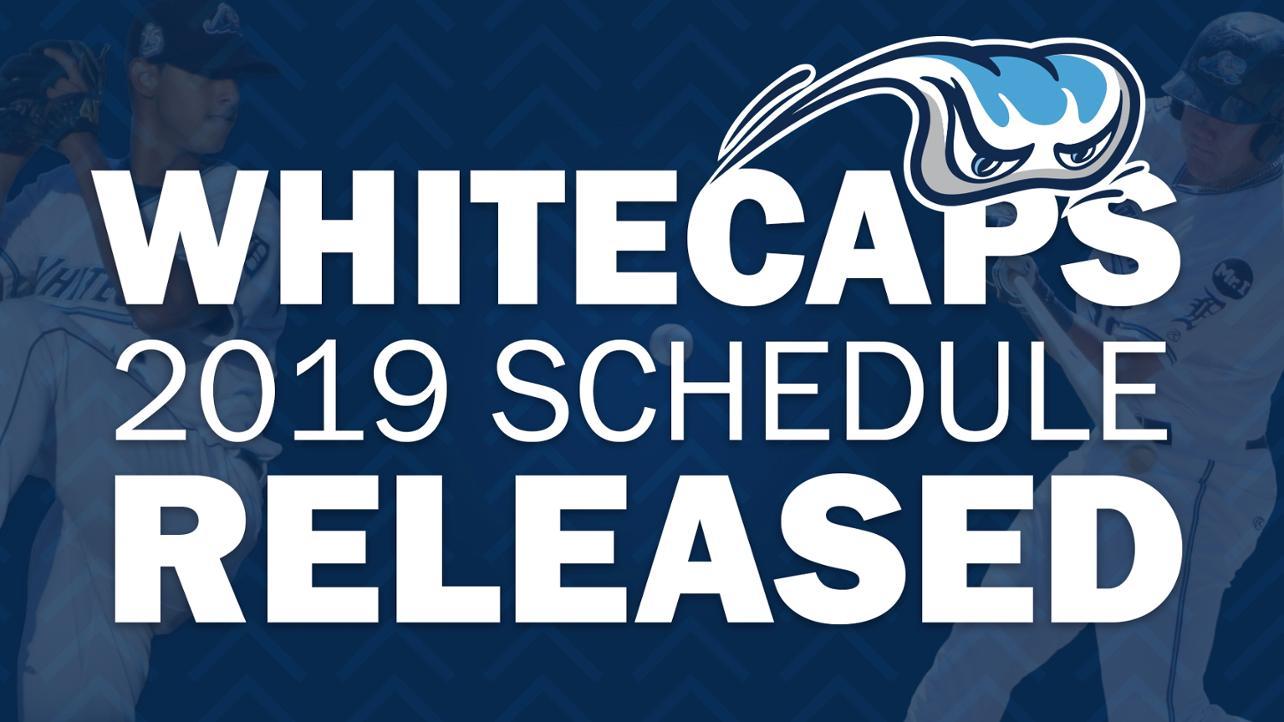 2019 Schedule Released