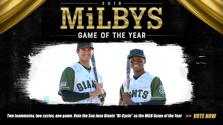 MiLBYS Game of the Year