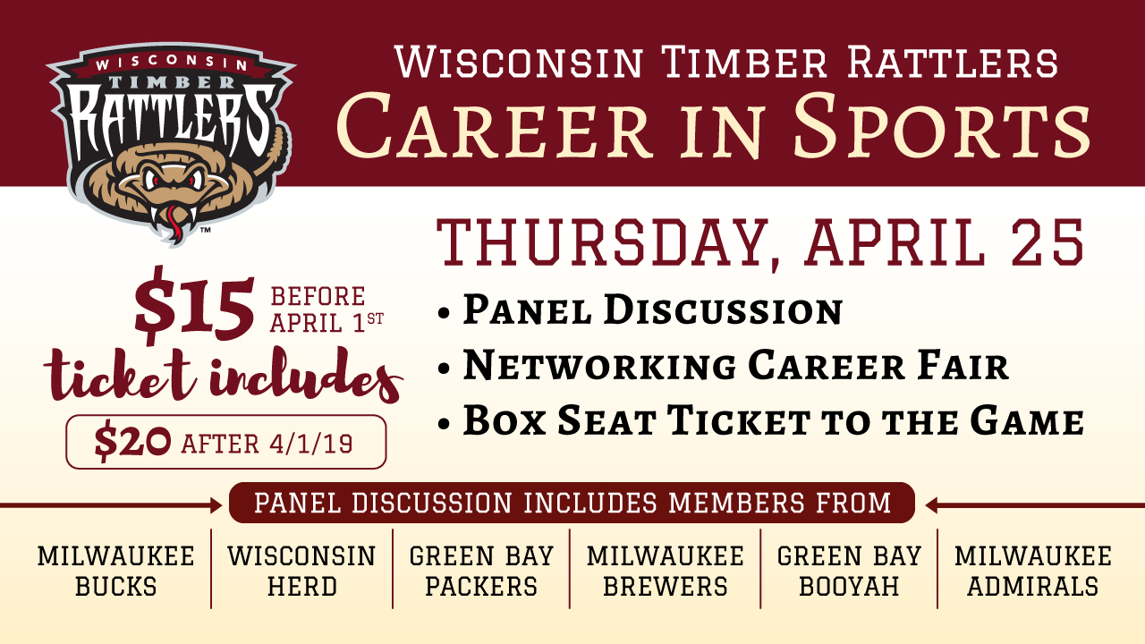 Career in Sports Night Scheduled for April 25 | Wisconsin