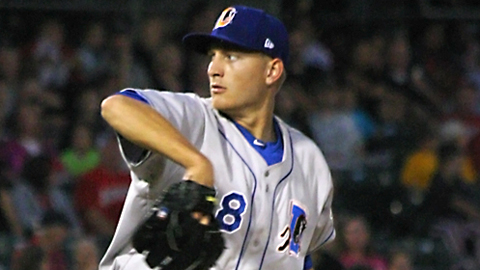 Mike Montgomery is 2-0 with a 4.05 ERA in five starts for Durham.