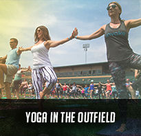 Yoga in the Outfield