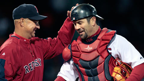 Georgia Tech product and former Red Sox Jason Varitek will be in Gwinnett.