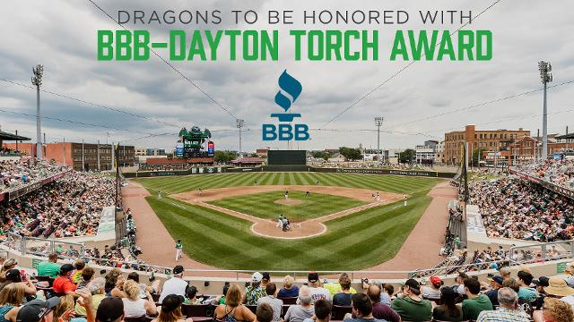 c486829a834 Dragons to be honored with BBB-Dayton Torch Award