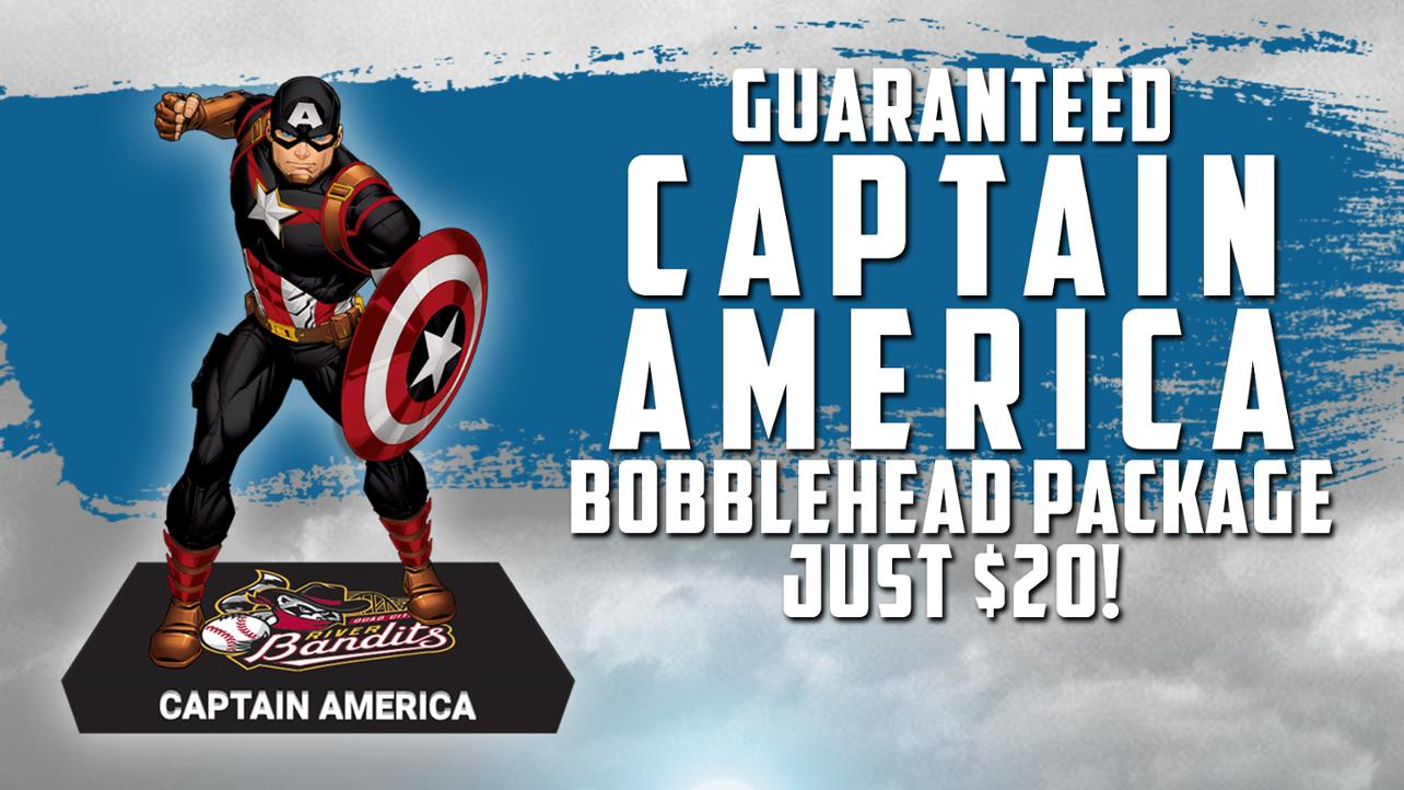 Exclusive Marvel River Bandits Bobblehead offer!