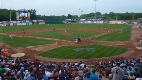 The Wisconsin Timber Rattlers took on the Cedar Rapids Kernels Saturday night at Time Warner Cable Field at Fox Cities Stadium.