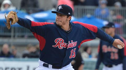 Danny Hultzen ranks second in the PCL with 25 strikeouts.