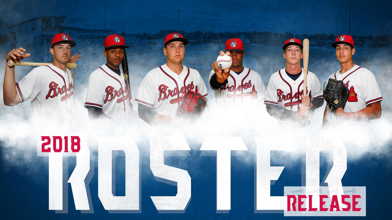 rome braves unveil opening day roster | rome braves news