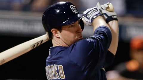 Jedd Gyorko posted a .968 OPS in the Pacific Coast League last season.