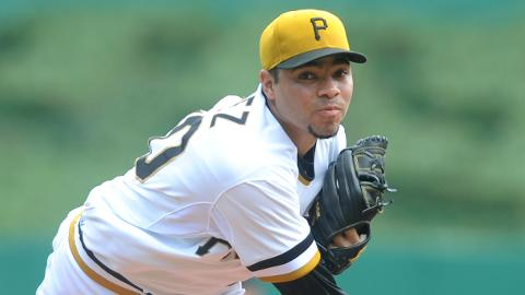 Jeanmar Gomez is 2-0 with a 3.07 ERA in 12 games for Pittsburgh.