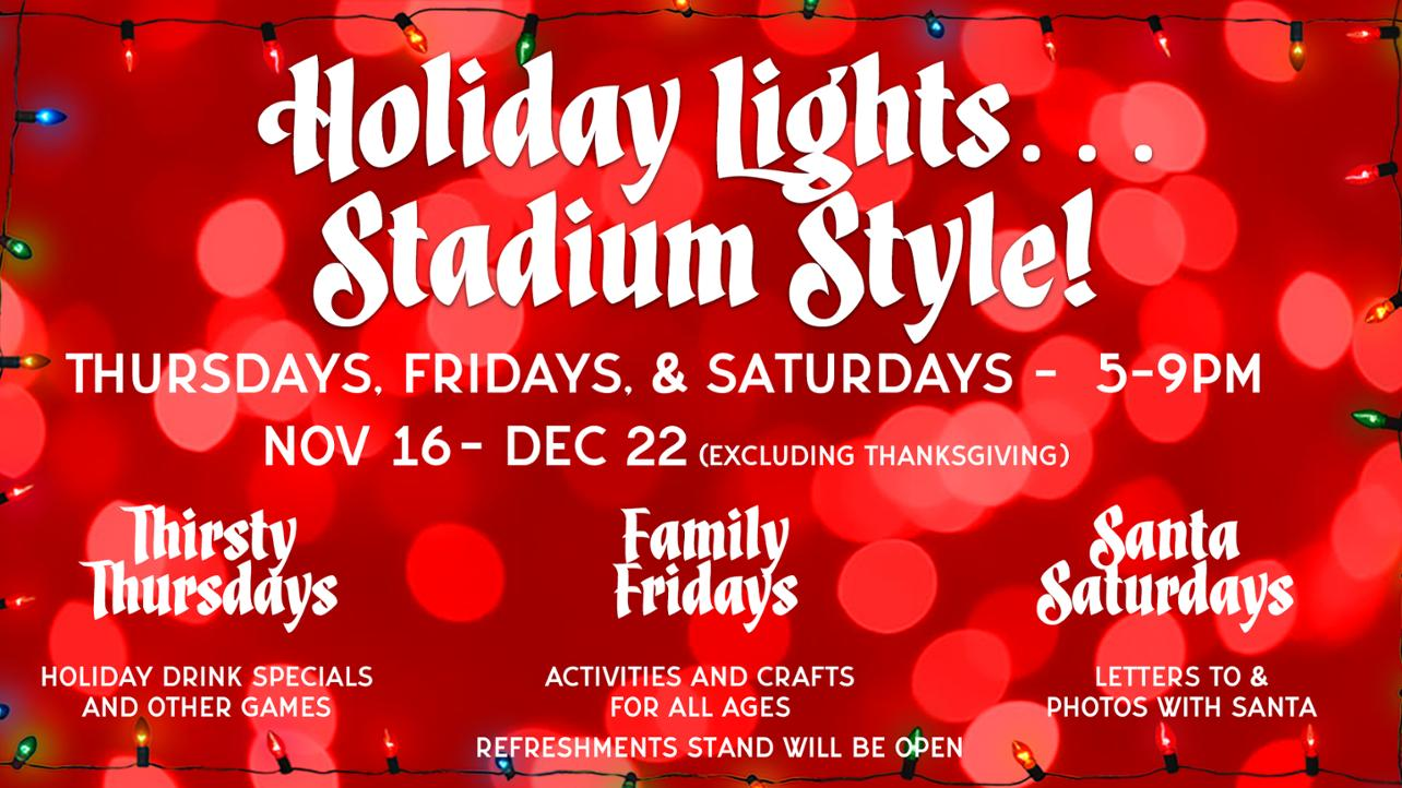 Holiday Lights...Stadium Style!