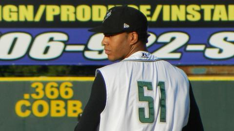 Kendry Flores has issued just 17 walks in 135 2/3 innings.