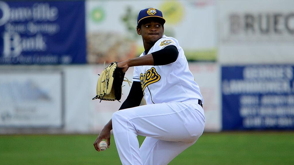 Kernels beat Bees 6-0 in series opener