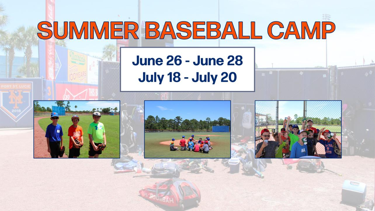 Sign up for Baseball Camp