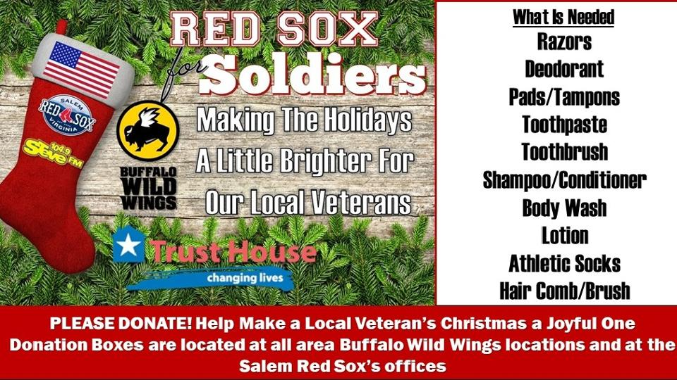 Red Sox For Soldiers 2019