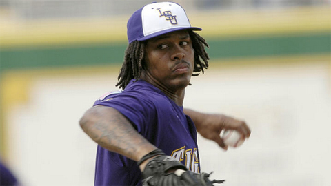 Chad Jones won national championships in football and baseball at LSU.