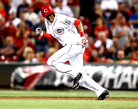 Billy Hamilton is 12-for-12 in stolen base attempts in his young career.