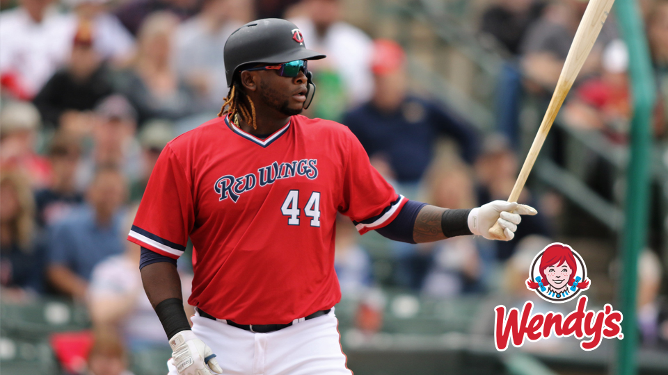 Sanó Short Red Homers Rochester Late Rally Tuesday Wings News Falls FwTrFqI
